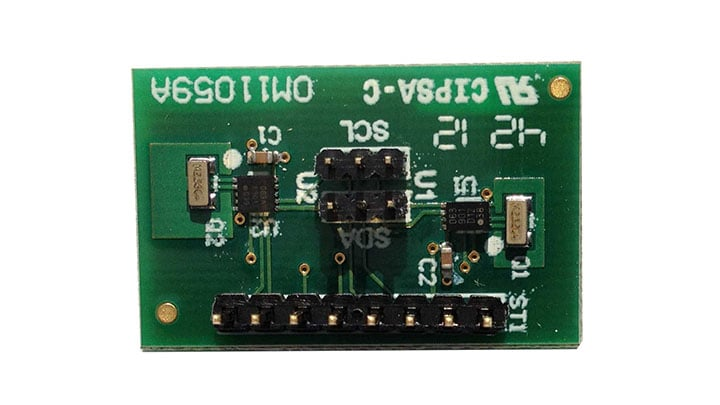 OM11059A : Demoboard for the I²C RTC PCF85063TP and PCF85063ATL thumbnail