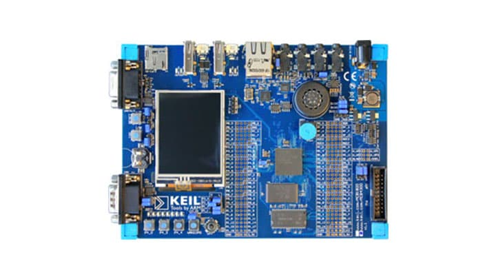 OM13039 : Keil MCB1857 Evaluation Board thumbnail