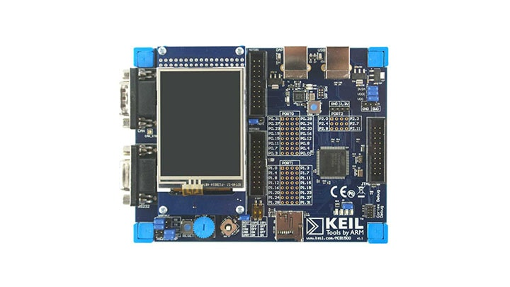 Keil MCB1549 Evaluation Board