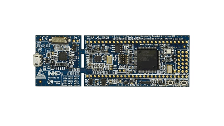 OM13085 : LPCXpresso board for LPC1769 with CMSIS DAP probe thumbnail