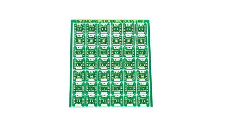 Surface Mount to DIP Evaluation Board OM13492
