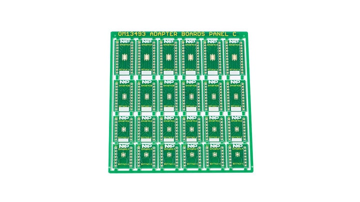 OM13493 : Surface Mount to DIP Evaluation Board  thumbnail