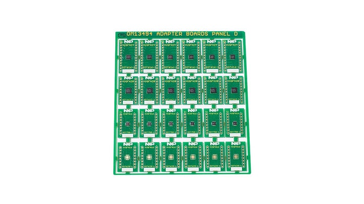Surface Mount to DIP Evaluation Board