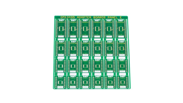 OM13495 : Surface Mount to DIP Evaluation Board  thumbnail