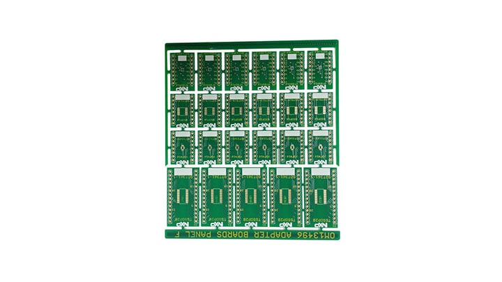 OM13496 : Surface Mount to DIP Evaluation Board  thumbnail