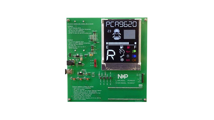 OM13500A : PCA8537 and PCF8537 evaluation board  thumbnail
