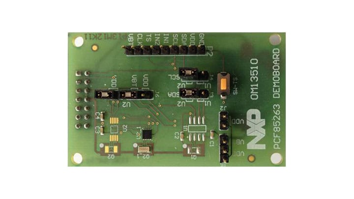 OM13510 : PCF85263A I²C-bus evaluation board thumbnail