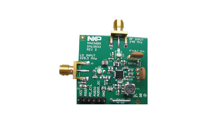 SA636BS evaluation demo board