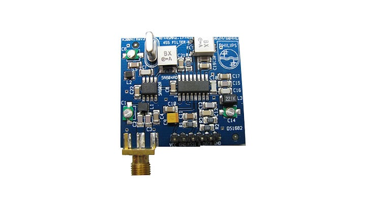 SA602AD / SA604AD evaluation demo board