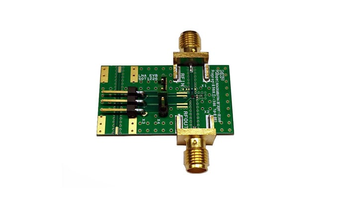 BGU8309 GNSS LNA evaluation board
