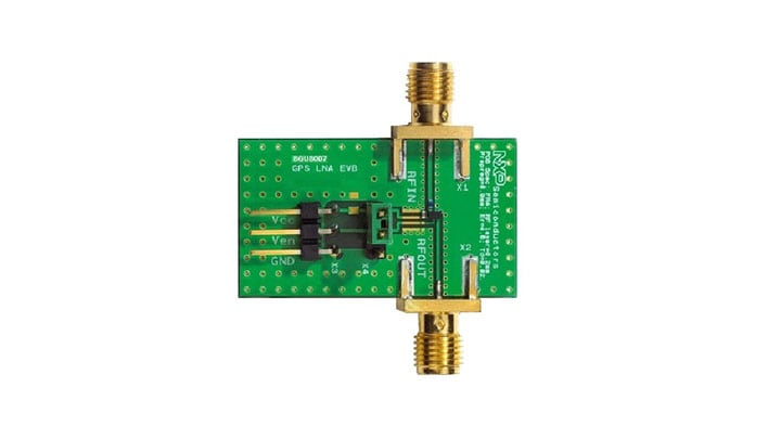 BGU8007 GPS LNA evaluation board (MMIC)