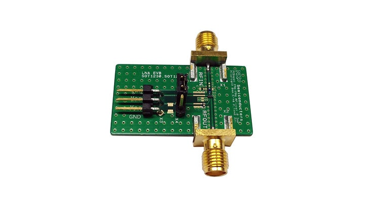 BGU8x1 LNA evaluation board
