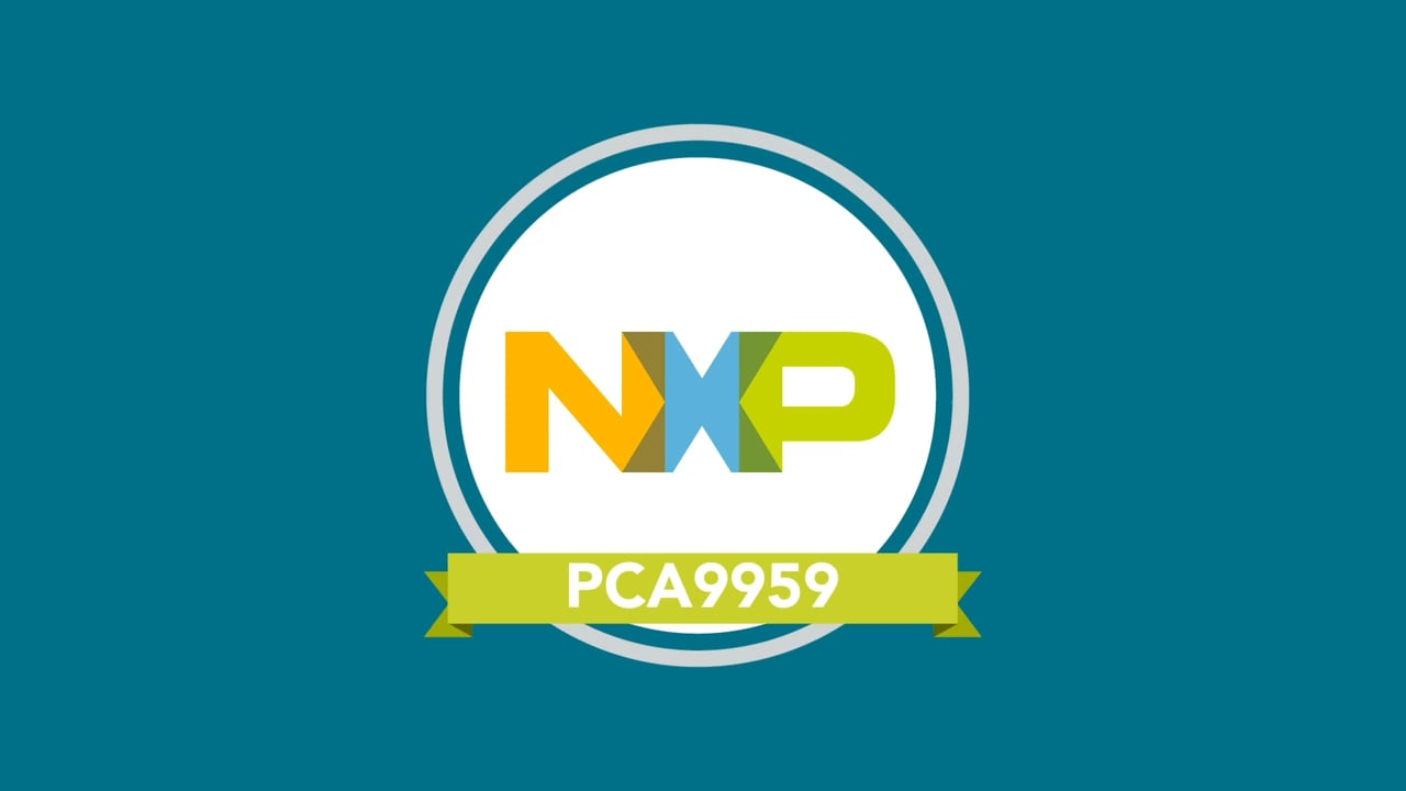 NXP PCA9959HN LED Controller Overview