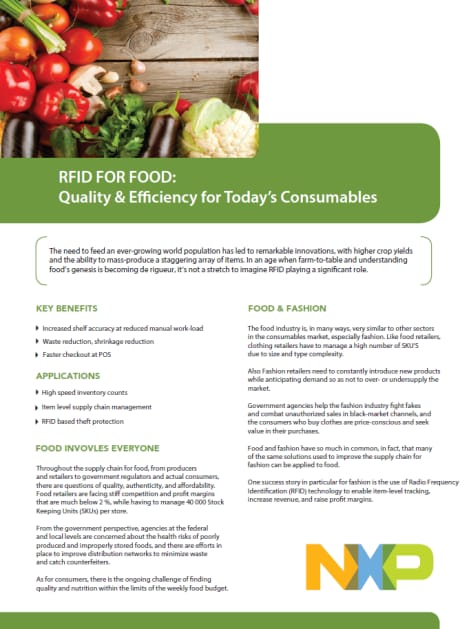 RFID For Food