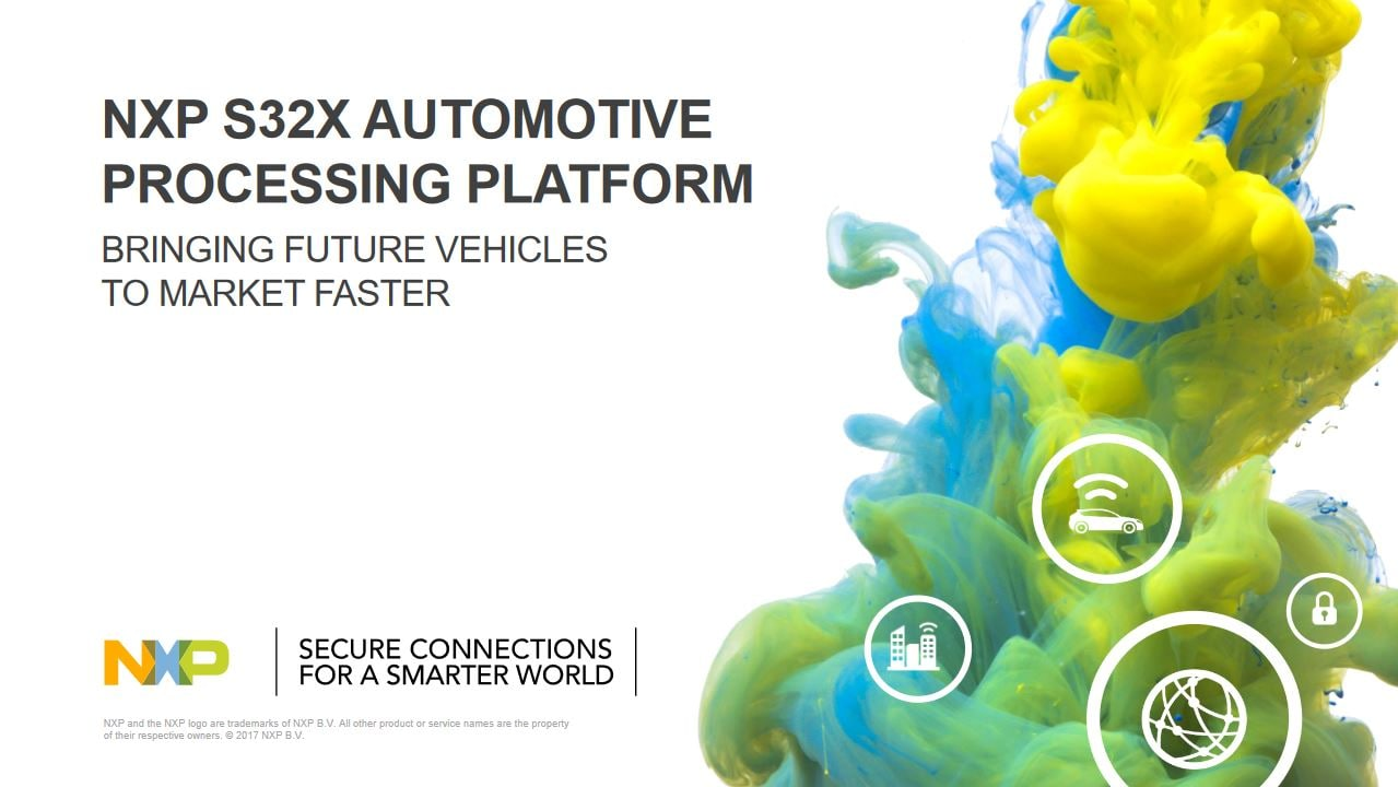 S32 Automotive Processing Platform Features and Benefits brochure