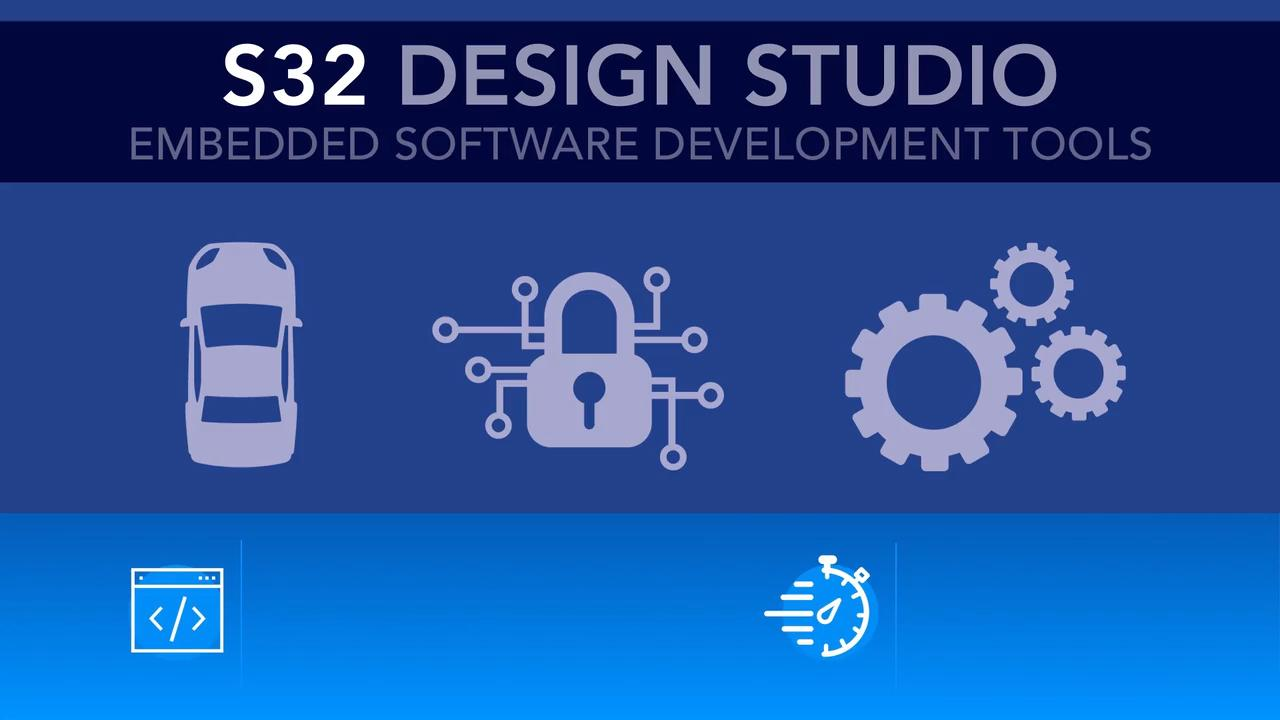 S32 Design Studio Integrated Development Platform