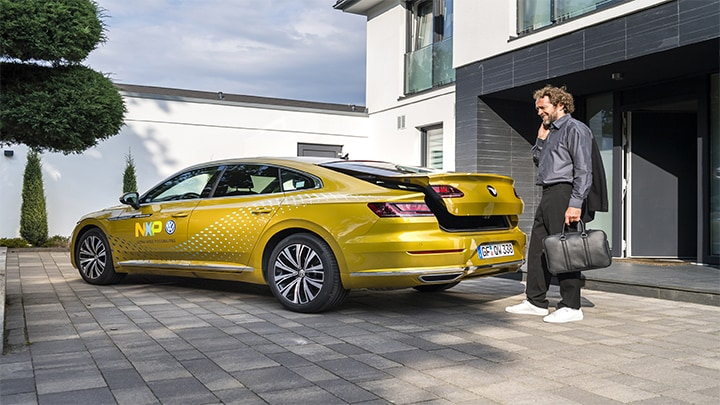 EETimes: Volkswagen and NXP Show First Car Using UWB image