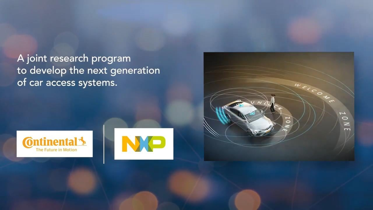 Ultra-Wideband (UWB) Smart Car Access Explained by Continental and NXP