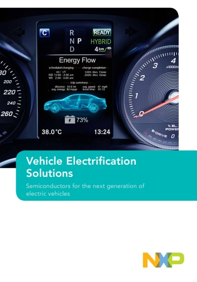 Vehicle electrification solutions