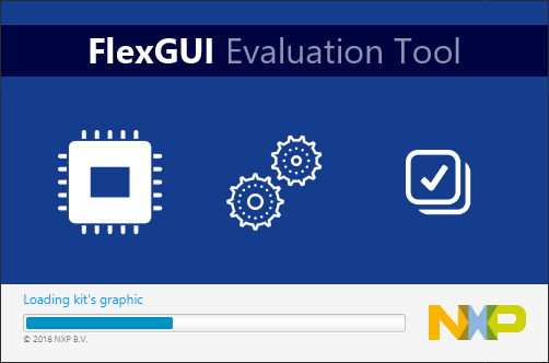 FlexGUI: Software Tool for Evaluation of Reference Design Kits