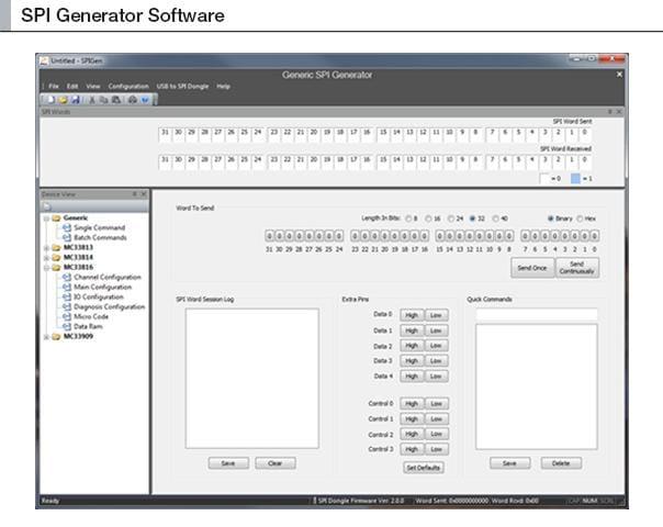 SPI Generator (SPIGen) Software | NXP