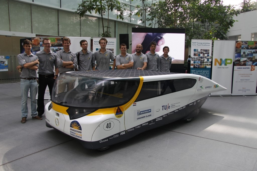 Stella and Solar Team Eindhoven in Singapore