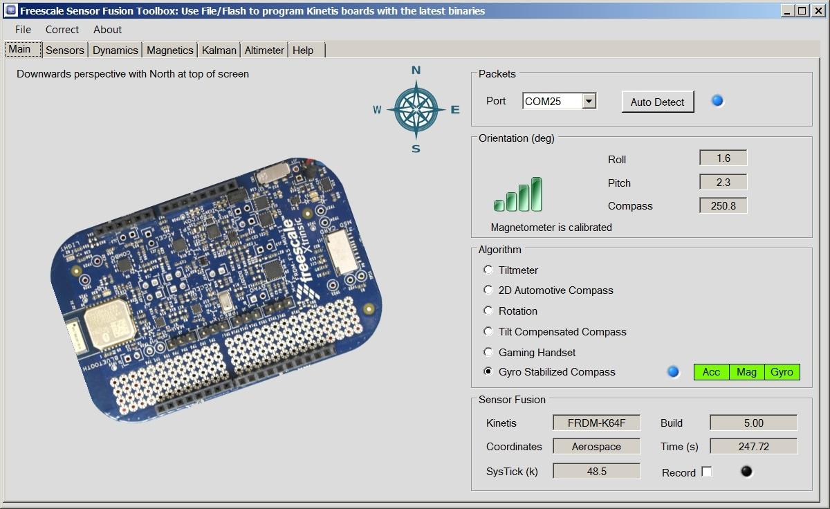 Download new sensor fusion release - NXP Blog