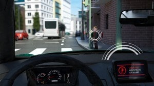V2X technology warns drivers of traffic hazards