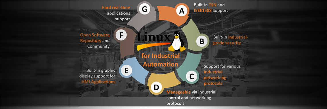 Download and Go – Open Industrial Linux for Factory Automation