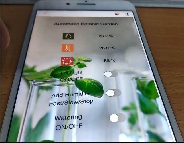 Botanical Garden Smart Phone Application