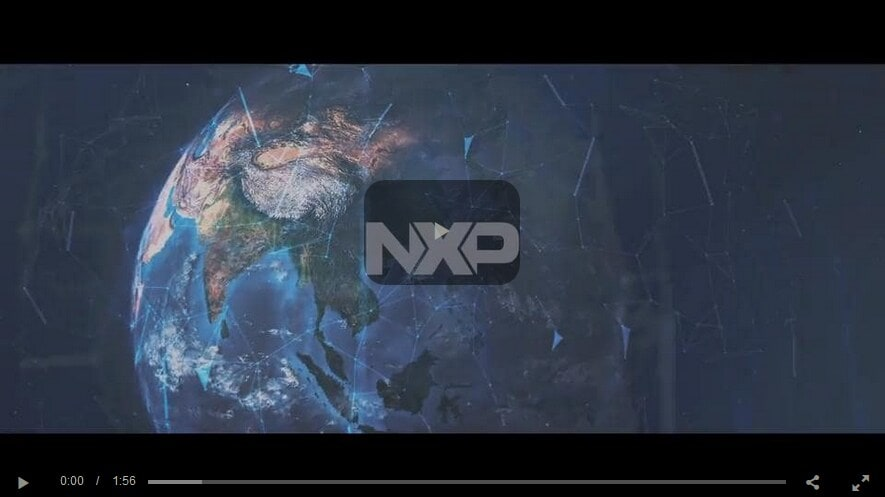 Image video from NXP showing use cases of NXP technology