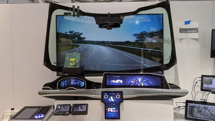 2020 CES Super eCockpits – The Future of Infotainment