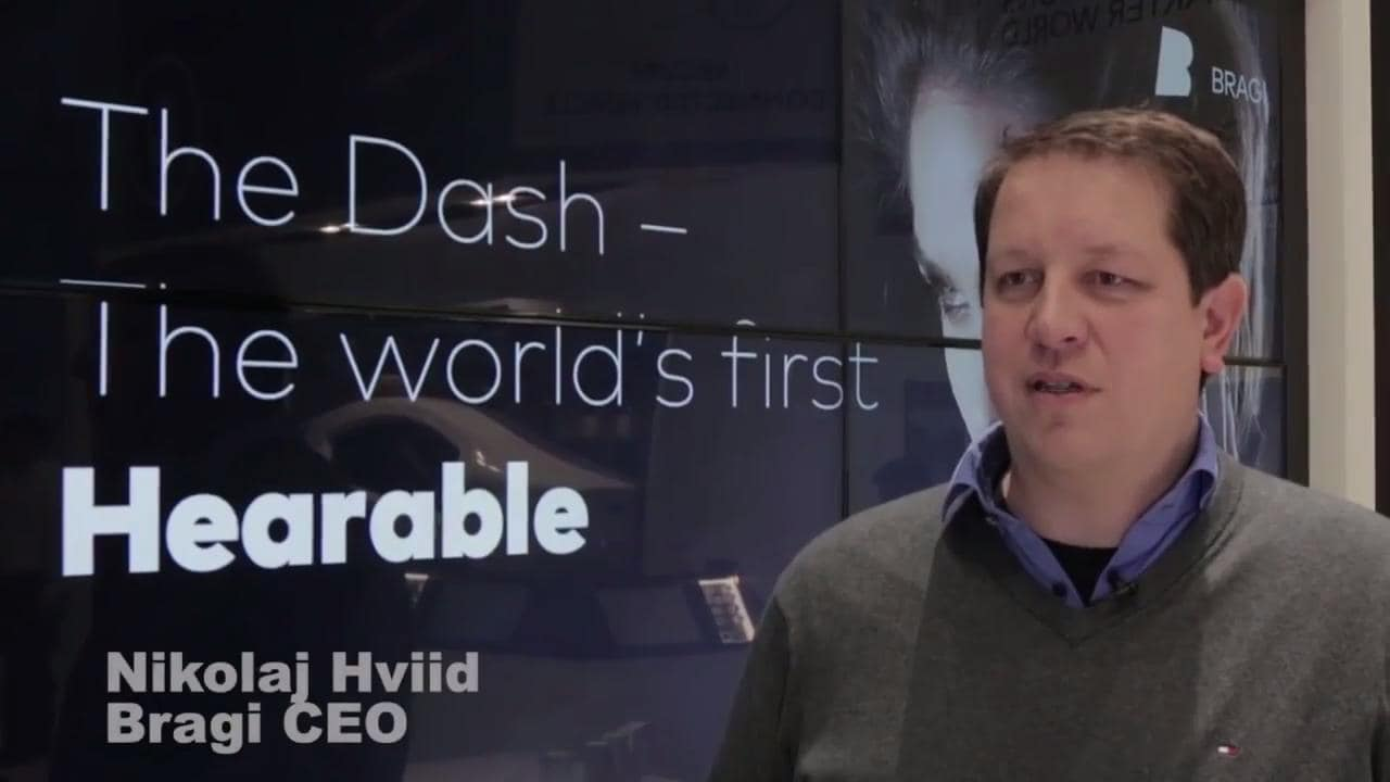 Bragi shows off The Dash - the world's first 'hearable' thumbnail