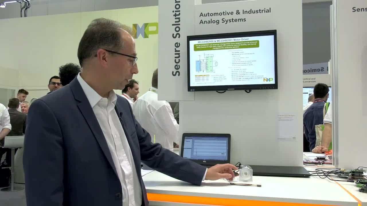 DC Motor control demo at embedded world 2017  thumbnail