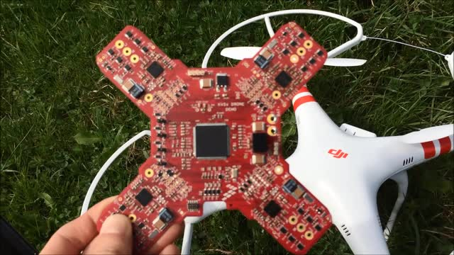 Demo: Drone UAVs' Based on Kinetis&#174; V Series Arm<sup>&#174;</sup> Cortex<sup>&#174;</sup>-M7 MCUs thumbnail