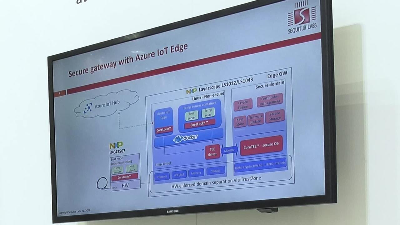 Secure Edge Computing with NXP and Sequitur Labs thumbnail