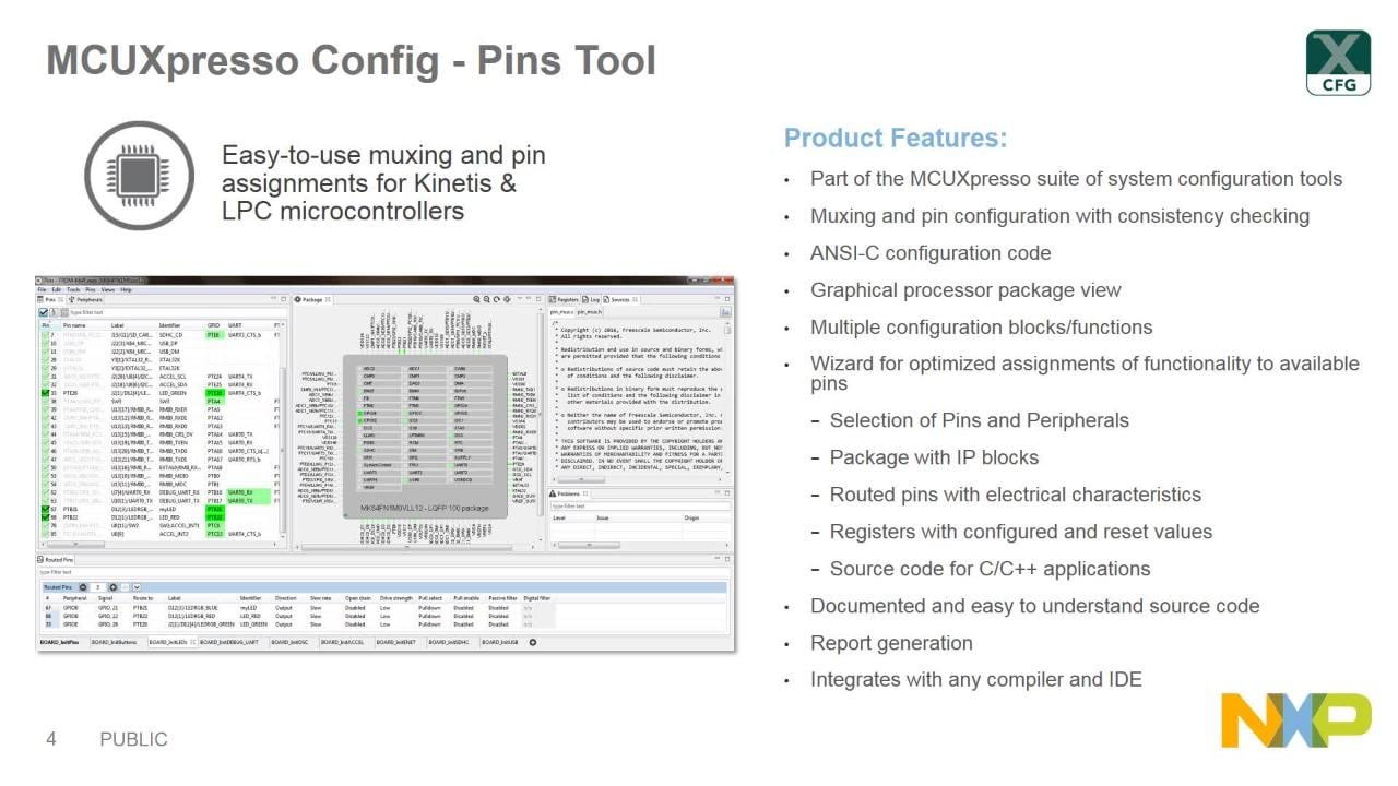 MCUXpresso Config Tools Overview thumbnail