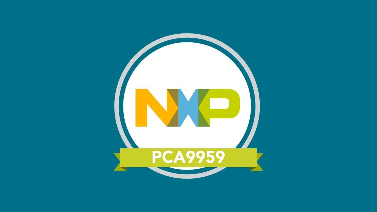 NXP PCA9959HN LED Controller Overview   thumbnail