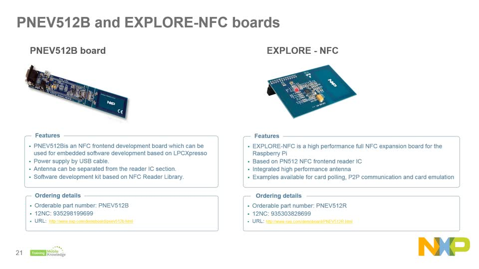 Design and Implement NFC applications 1: Product su|NXP