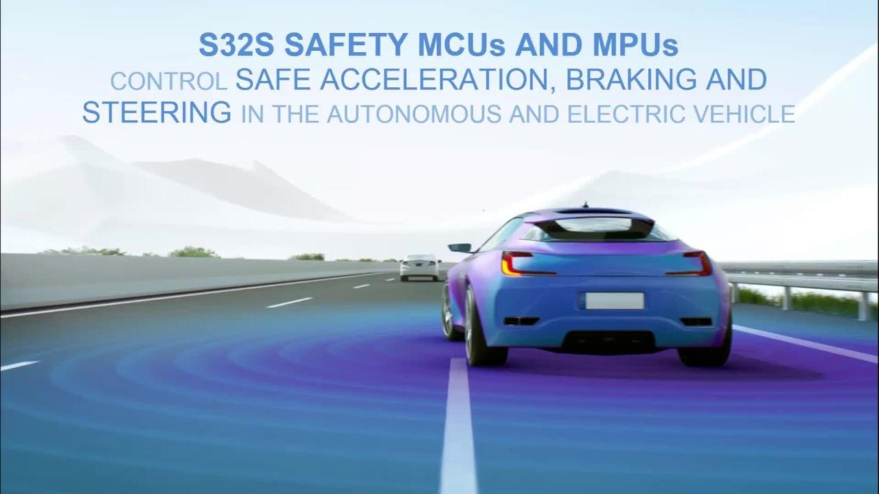 S32S MCUs and MPUs- Next-Generation of Safe Dynamic Control for Electric and Autonomous Vehicles  thumbnail