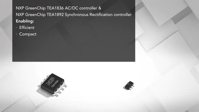 NXP ultra small adapter solution